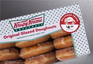 Article 2003 Krispy Kreme Photo Sticker