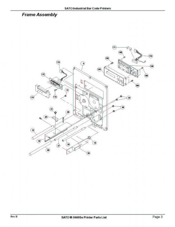 M8460Se - Wide Web | SATO America