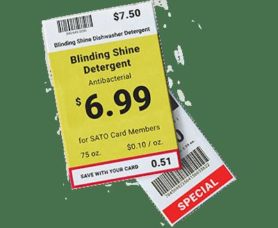 Buy Tag and Label Printers, RFID Smart Printers and Tags | SATO